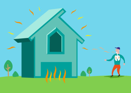 Radon Comes From The Ground And Can Accumulate In Homes